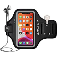 iPhone 12, 12 Pro, 11 Pro, X, XS Armband, JEMACHE Water Resistant Gym Running Workouts Sports Cell Phone Arm Holder Band…