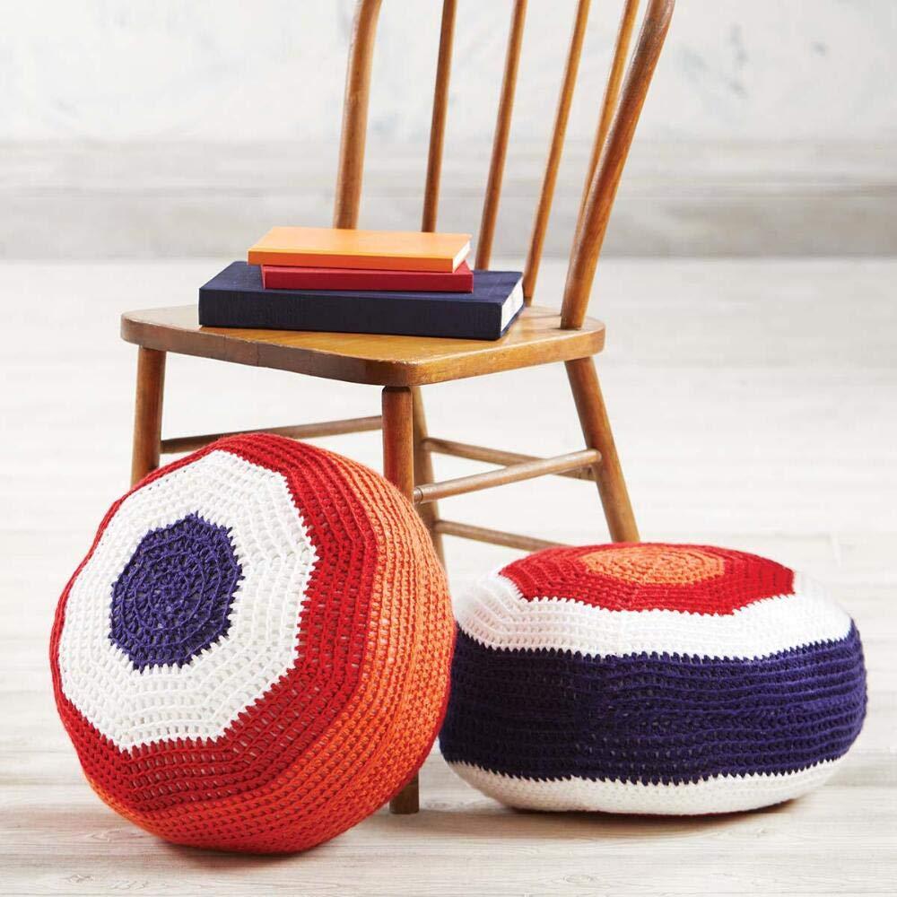 Herrschners/® Study Group Poufs Yarn Kit