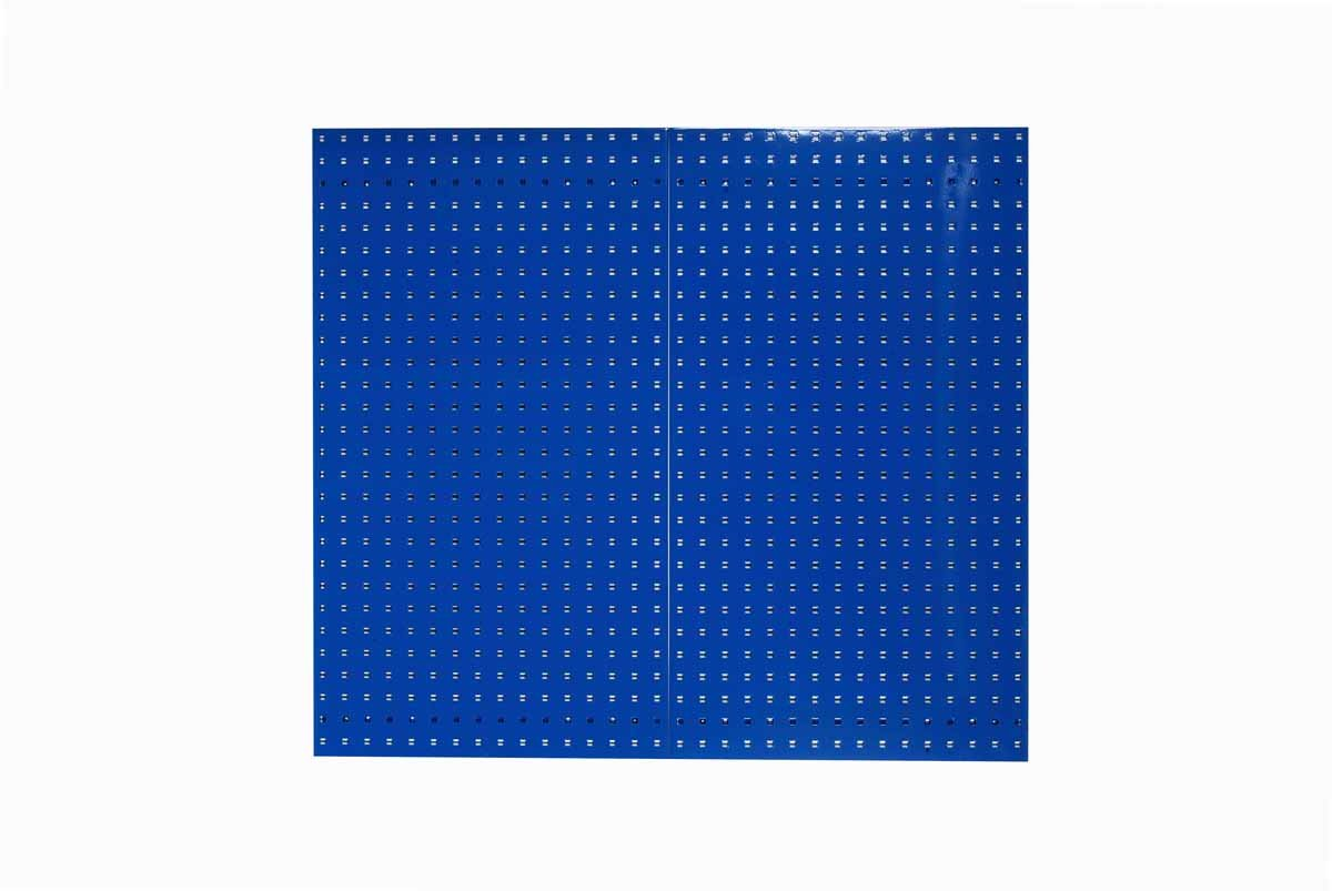 Blue 24-Inch x 42-1//2-Inch x 9//16-Inch Triton Products LB2-B LocBoard Steel Square Hole Pegboards
