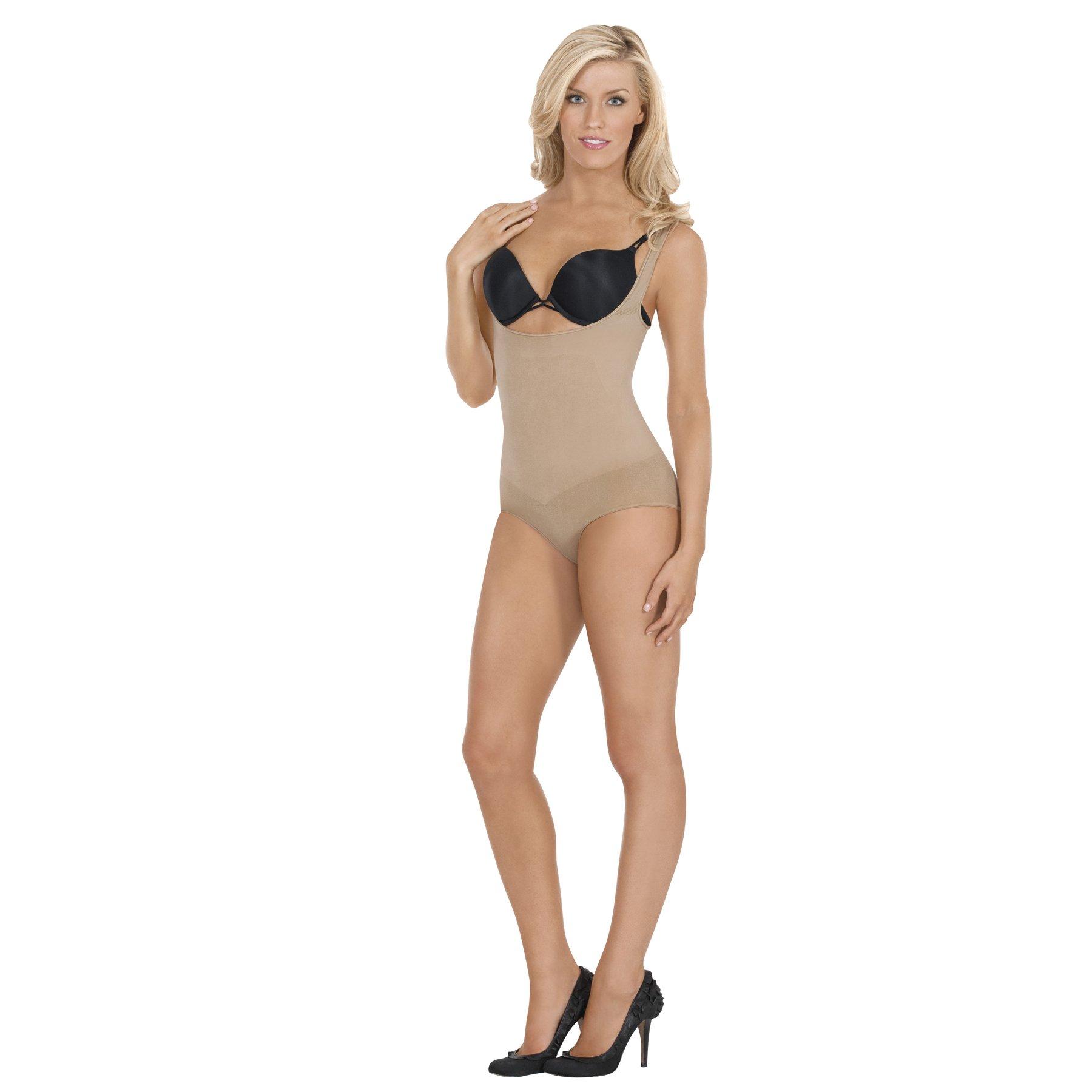 Eurotard Julie France JFL00 Léger Frontless Panty Shaper