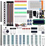Starter Project Kit for Arduino UNO R3 with Breadboard Jumper Wires LCD 1602 Power Supply Module