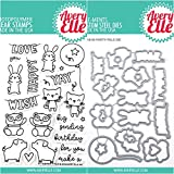 ShopForAllYou Stamping & Embossing (Stamp & Die Bundle)''Party PALS'' Clear Stamps Only OR Clear Stamp