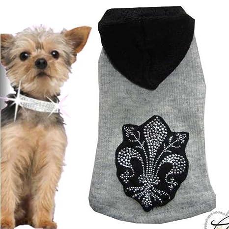 Talla XS Perros Chaqueta Ropa para Perros Emblema Perros – Sudadera para mujer