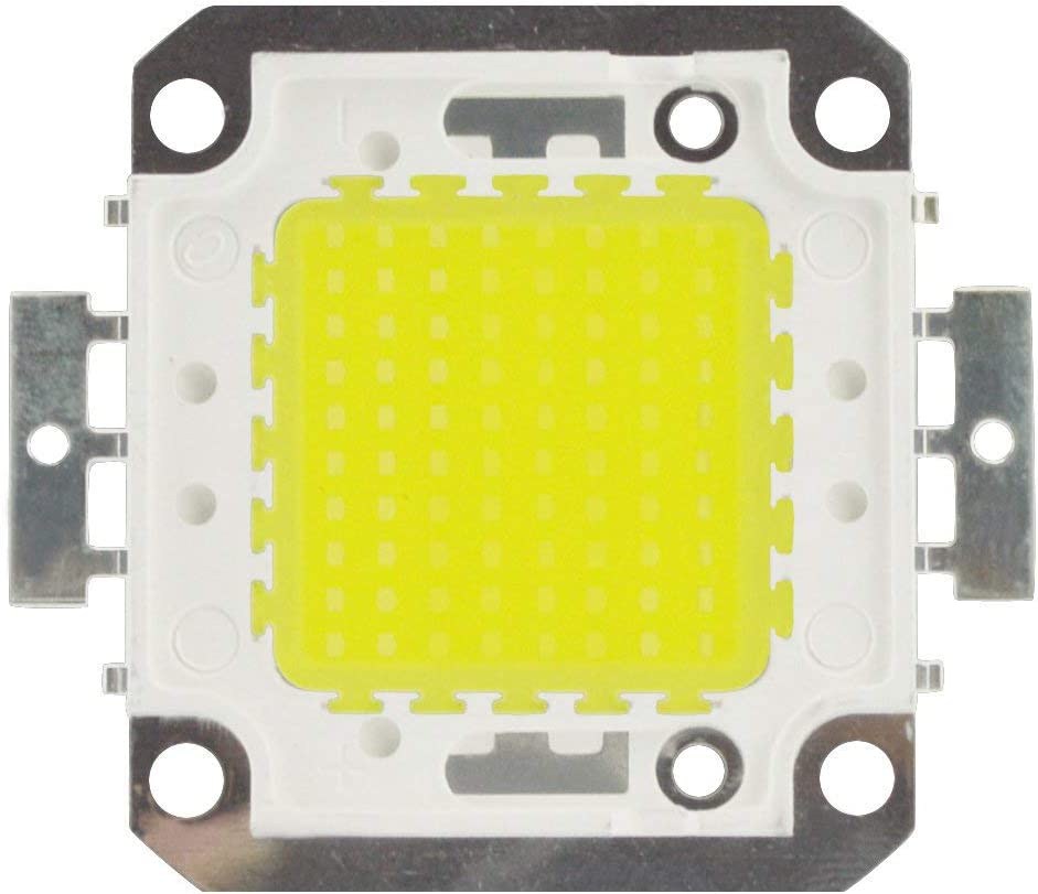 10pcs//lot 50W LED High Power SMD LED Cold White 30000k 30-36V for DIY