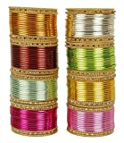 Best Bangle Boxes For Girls - MUCHMORE Great Bollywood Fashion Indian Bangles Box Multi Review