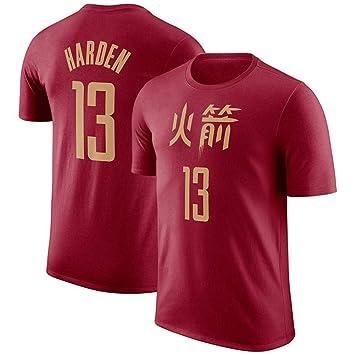QAZWSX Equipo De La NBA Houston Rockets, Camiseta De Baloncesto ...