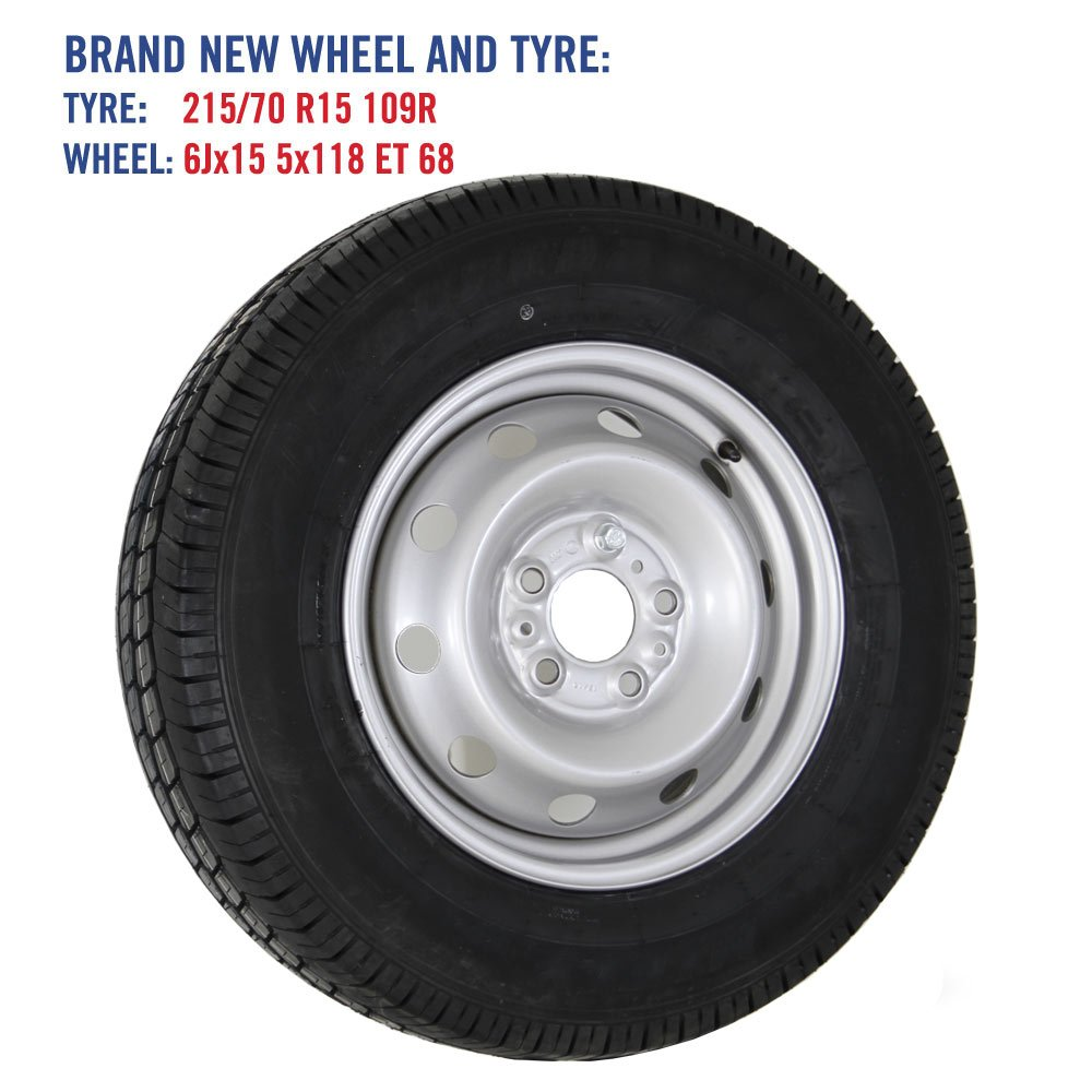 Spare Wheel and Tyre for Fiat Ducato and Autotrail Motorhome - 15 Wheel fitted with ...