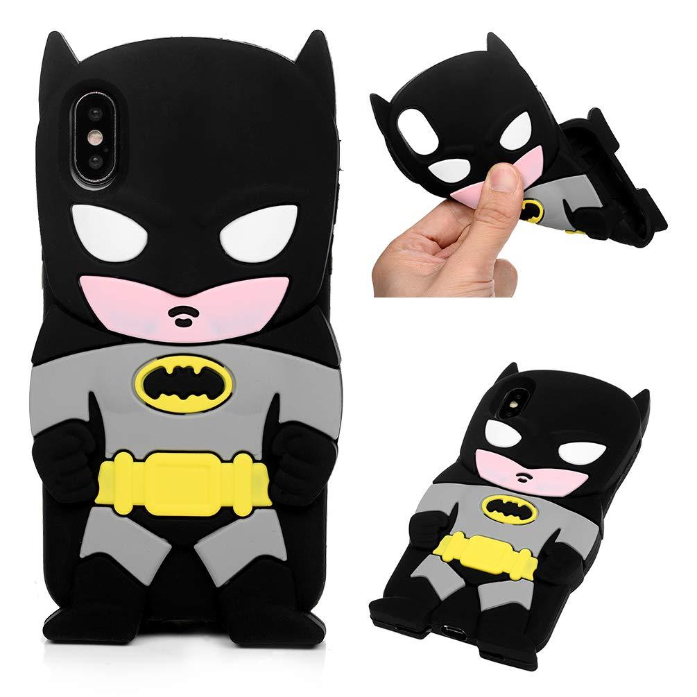 Amazon Com Iphone X Iphone Xs Case Cute Cartoon Batman