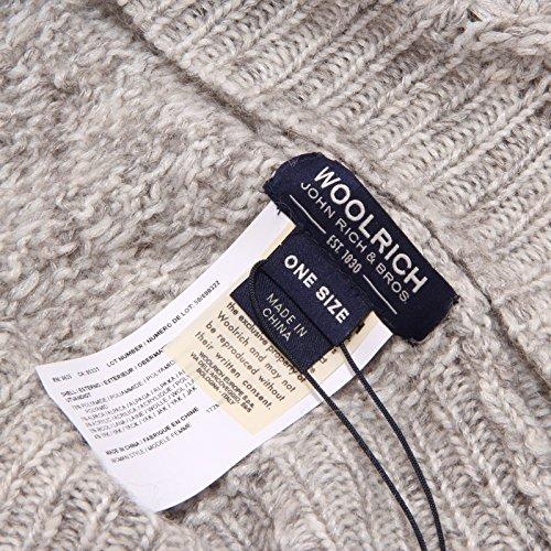 Scaldacollo 1086w Woolrich Grey Donna Grigio Scarf Chiaro Woman wgwrq5