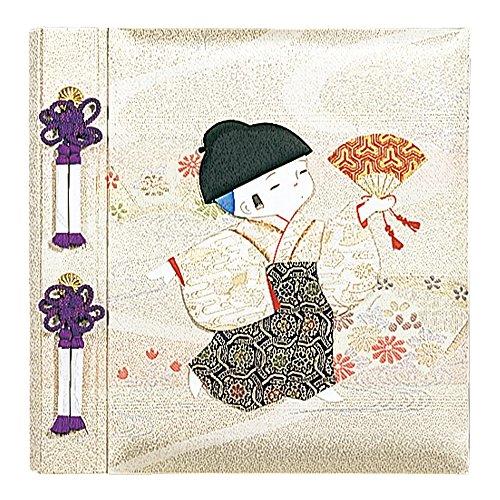 Nakabayashi Fueruarubamu birth for Kyoto doll boy photo album birthday photo A H-LB-121-2 (japan import) by Nakabayashi Co., Ltd.