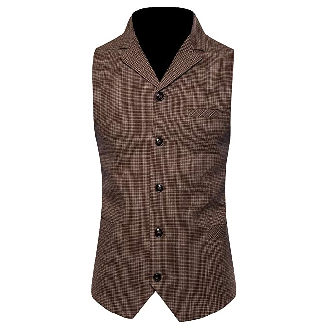 Amazon.com: SFE - Chaleco de moda para hombre, informal ...