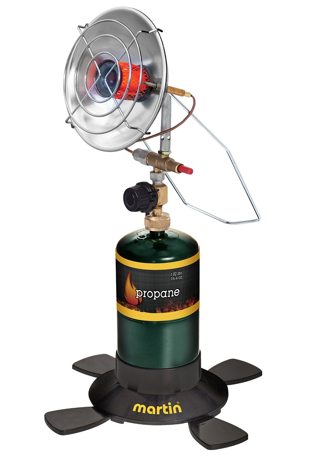 MARTIN Portable Outdoor Camping Infrared Propane Heater Bismar