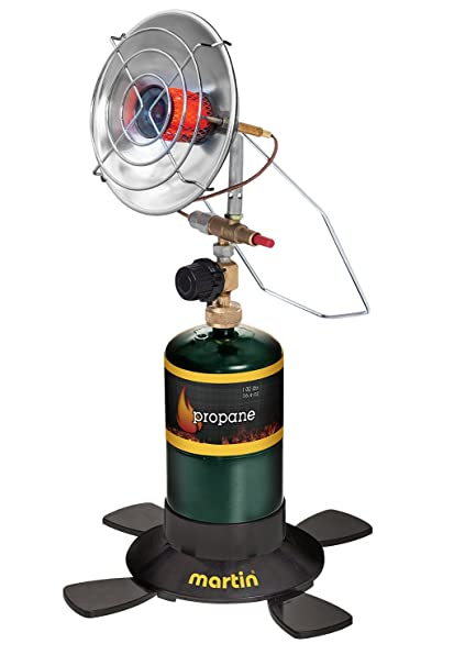 Propane Radiant Heater >> Martin Portable Outdoor Camping Infrared Propane Heater