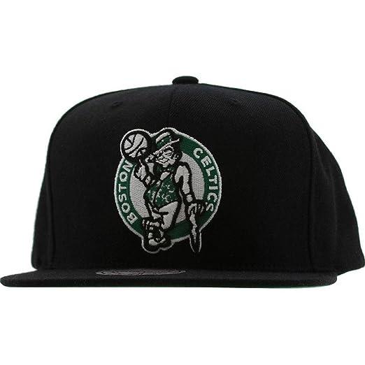 4f9e77bb6 Mitchell & Ness Men's Boston Celtics Wool Solid Snapback