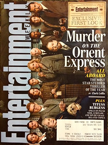 Entertainment Weekly Magazine (May 12, 2017) Murder on the Orient Express Cover