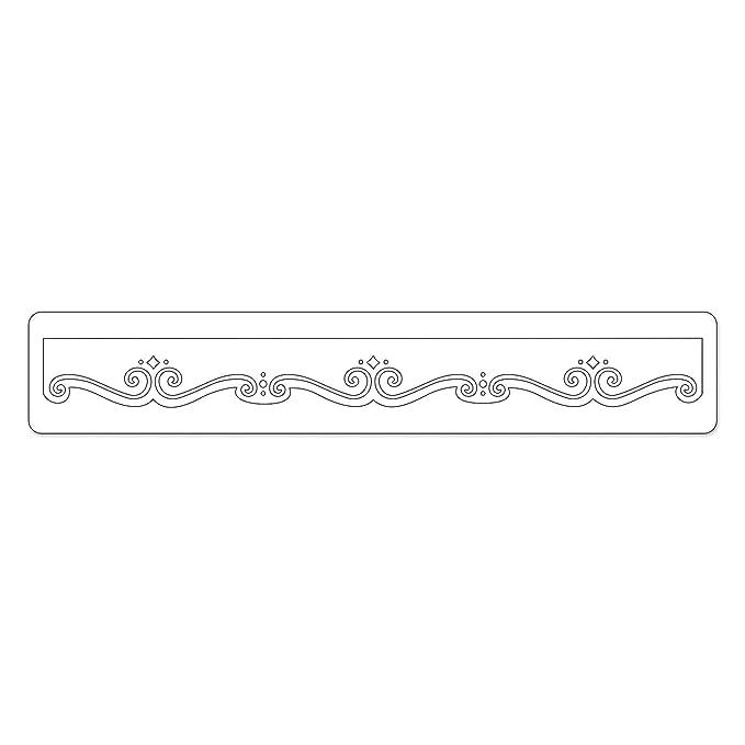 8358b782eaedb Amazon.com: Sizzix Sizzlits Decorative Strip Die - Henna Caravan