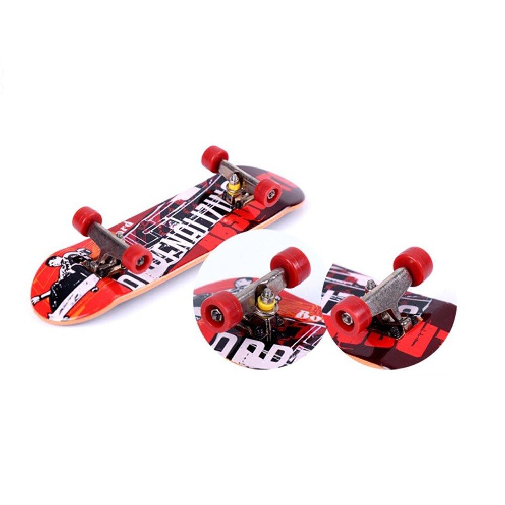 diffstyle ミニフィンガーボード 合金 フローラル スケートボードセット ツール付き ランダムカラー  Color Random B075GN7LV8
