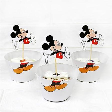 Linker Wish - Platos biodegradables con diseño de Mickey ...