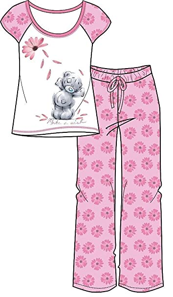 Ladies Tatty Teddy Make A Wish Flower Pyjamas 12-14: Amazon.es: Ropa y accesorios