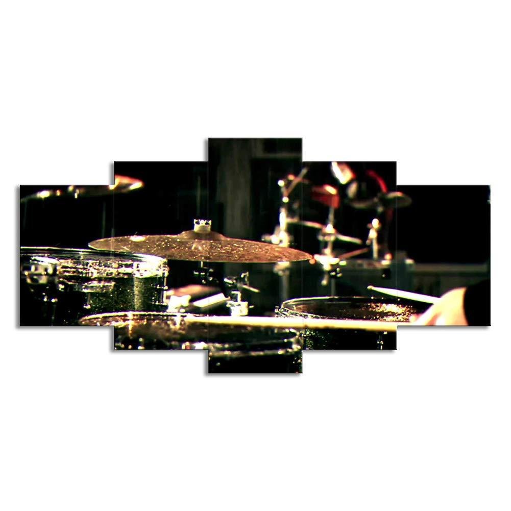 Imágenes De Instrumentos Musicales 5 Panel Cuadros