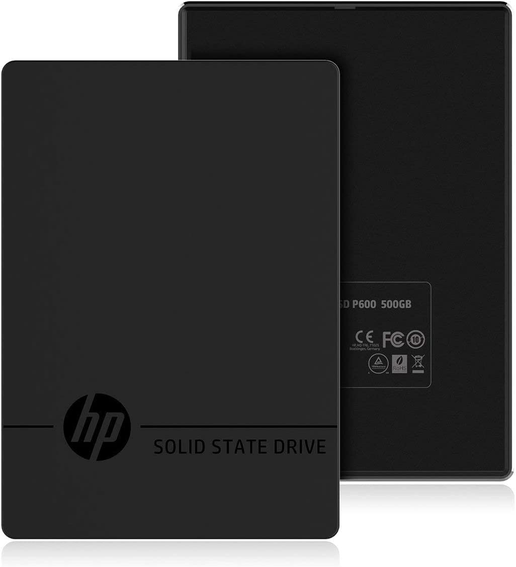 HP P600 250GB Portable USB 3.1 External SSD 3XJ06AA#ABC