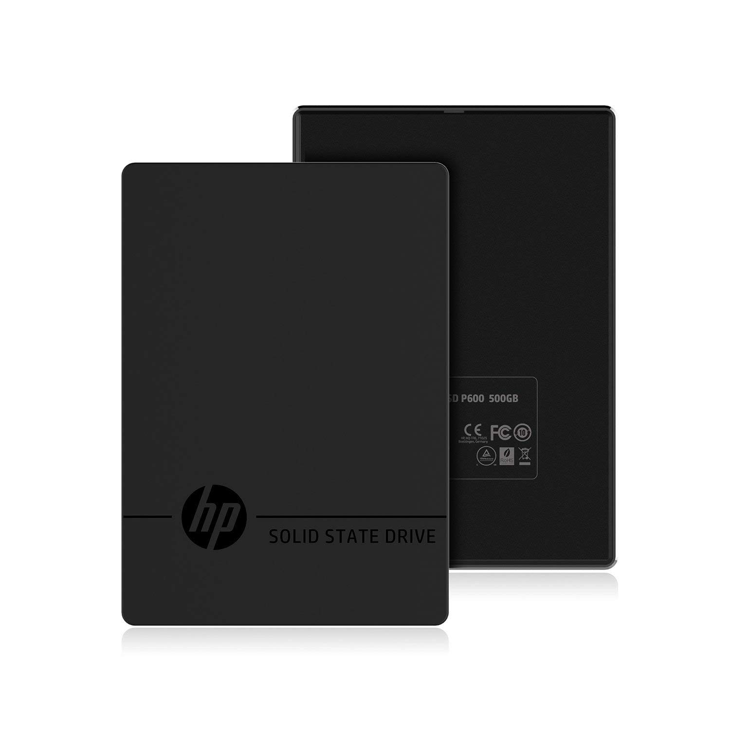 HP P600 500GB Portable USB 3.1 External SSD 3XJ07AA#ABC