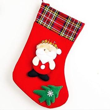 QZHE Media de navidad Para Navidad Calcetines De Navidad ...
