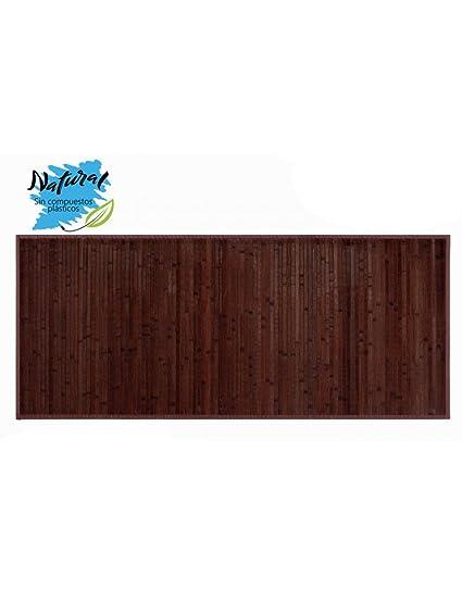 Tappeto in Legno di Bambù colore Cocolate Scuro: Amazon.it: Casa e ...