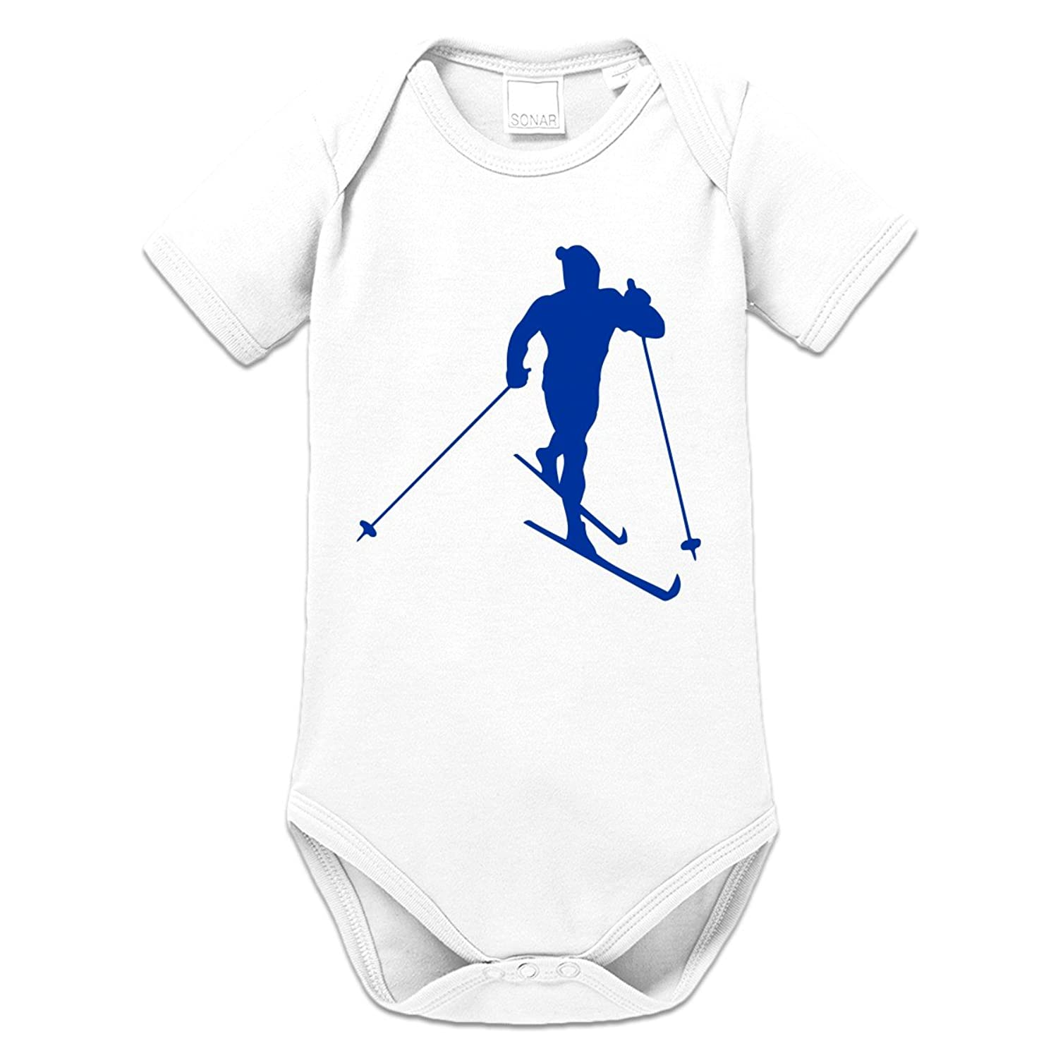 Skilanglauf Baby Strampler by Shirtcity