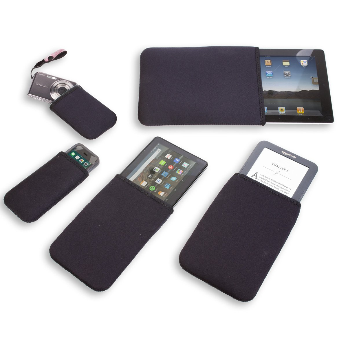 OP/TECH USA 4601387 Smart Sleeve 387 (Black) - Neoprene Sleeve by OP/TECH USA (Image #2)