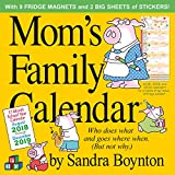 Mom's Family Wall Calendar 2019 [12'' x 12'' inches]