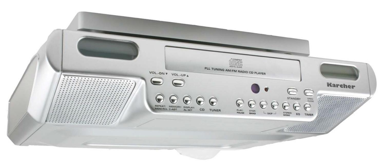 Karcher KA 1015 -Equipo reproductor de CD con radio para ...
