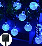 Amazon Price History for:Christmas Solar String Light ,20ft 30LED Fairy String Lights Bubble Crystal Ball Lights Decorative Lighting for Garland,Garden, Home, Patio, Lawn, Party ,Holiday ,Ooutdoor Decor (blue)