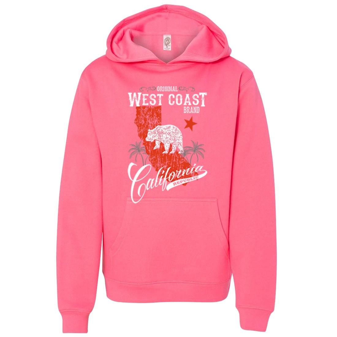 California West Coast Brand Premium Youth Sweatshirt Hoodie
