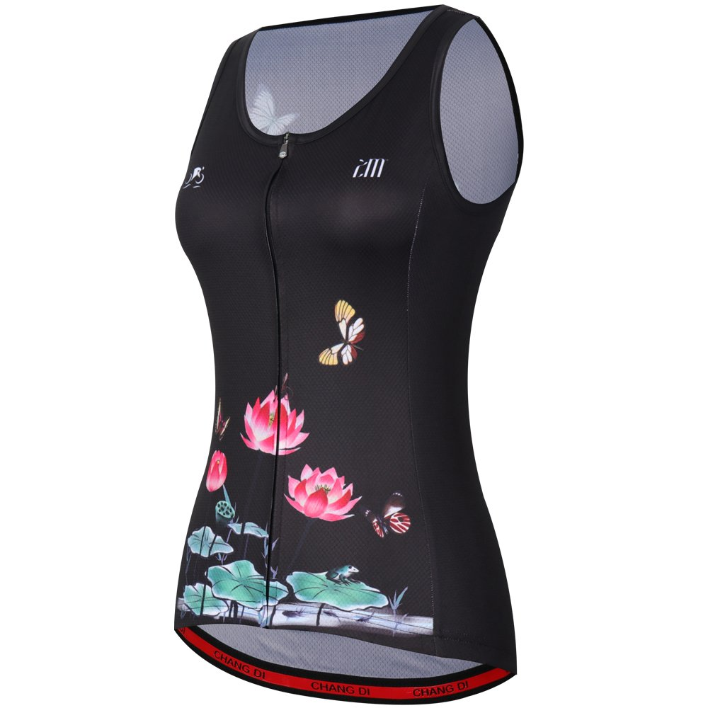 ZM Cycling Sleeveless Jersey Vest Women/Bicycle Cycle summer Vest Women/Breathable Bike Vest Sleeveless (XL, 3) by ZM (Image #2)