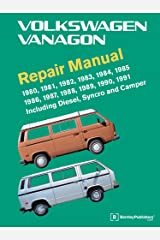Volkswagen Vanagon Repair Manual: 1980, 1981, 1982, 1983, 1984, 1985, 1986, 1987, 1988, 1989, 1990, 1991 Hardcover