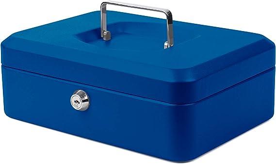 Cassetta portavalori 15 cm colore: Nero Pavo 8011827