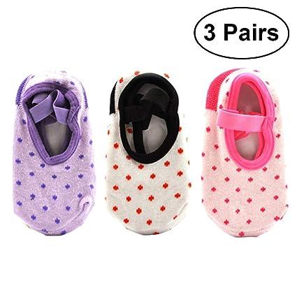 Yeahibaby Calcetines antideslizantes Calcetines para niños Calcetines para niños Calcetines de bebé para niños Calcetines de
