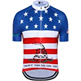 Weimostar Men s USA Cycling Jersey Short Sleeve Biking Shirts Breathable  with Pokects 2c4f391c1