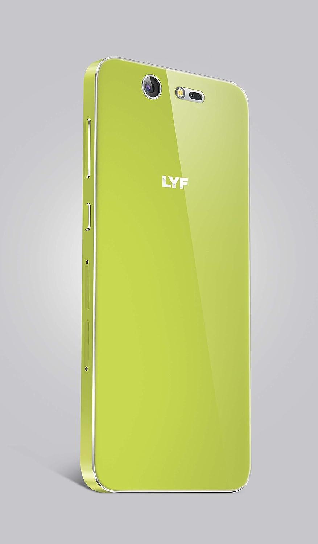 LYF Earth 2 4G LTE Smart Phone (Green): Amazon.in: Electronics