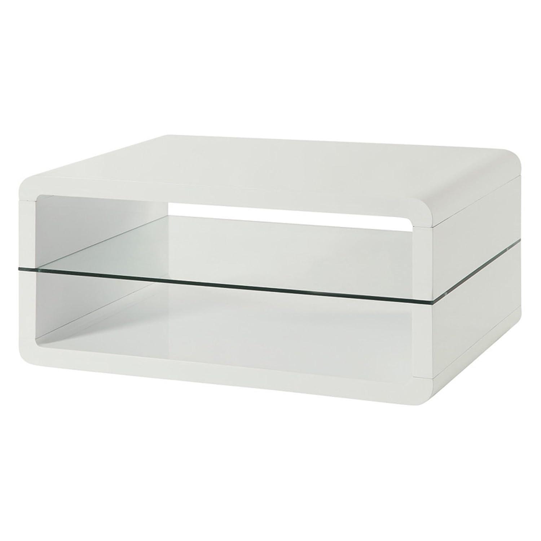 Elegant Amazon.com: Coaster 703268 Home Furnishings Coffee Table, White: Kitchen U0026  Dining