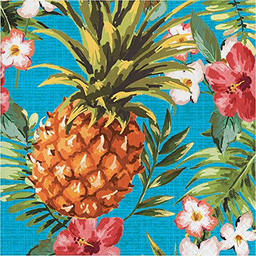 Creative Converting 319995 192 Count Aloha Luncheon Napkin