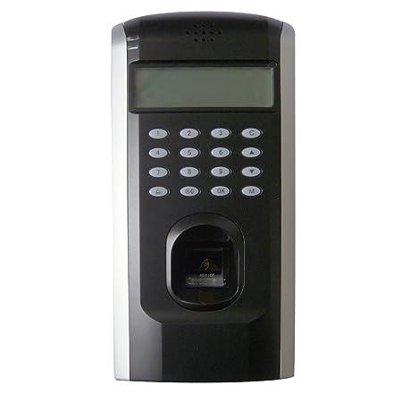 biométrico de huellas digitales reloj de tiempo de asistencia sistema de control de acceso puerta y (Grabadora: Amazon.es: Electrónica