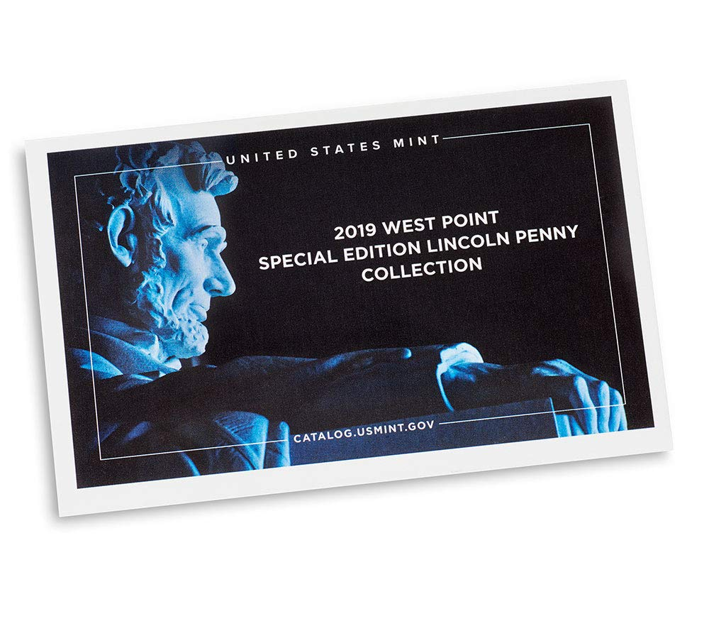 West Point Mint Cent Proof US Mint 2019 W Lincoln Shield Cent in OGP