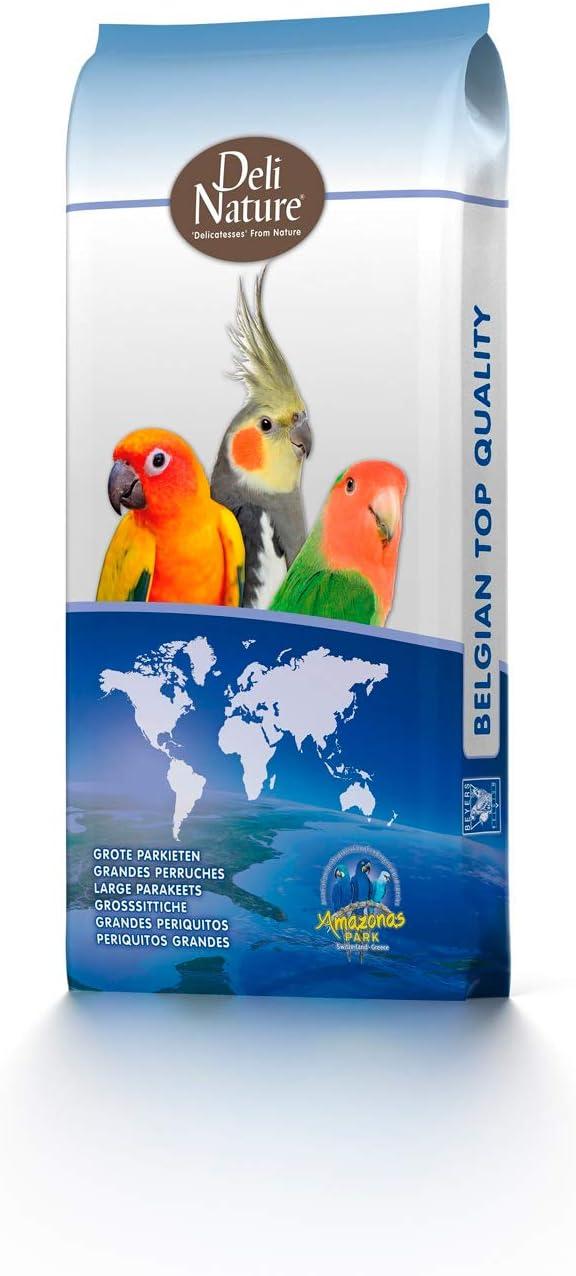 Deli Nature 15-006469 Agapornis con Pipas - 20000 gr