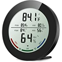 ORIA Digital Hygrometer Thermometer Indoor Thermometer Humidity Monitor Temperature Humidity Gauge Meter with LCD Screen…