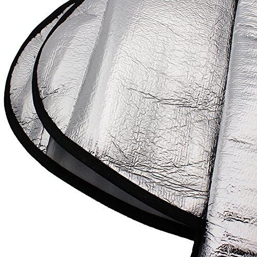 Parasol para parabrisas de coche iTimo protecci/ón contra rayos UV y antirrobo