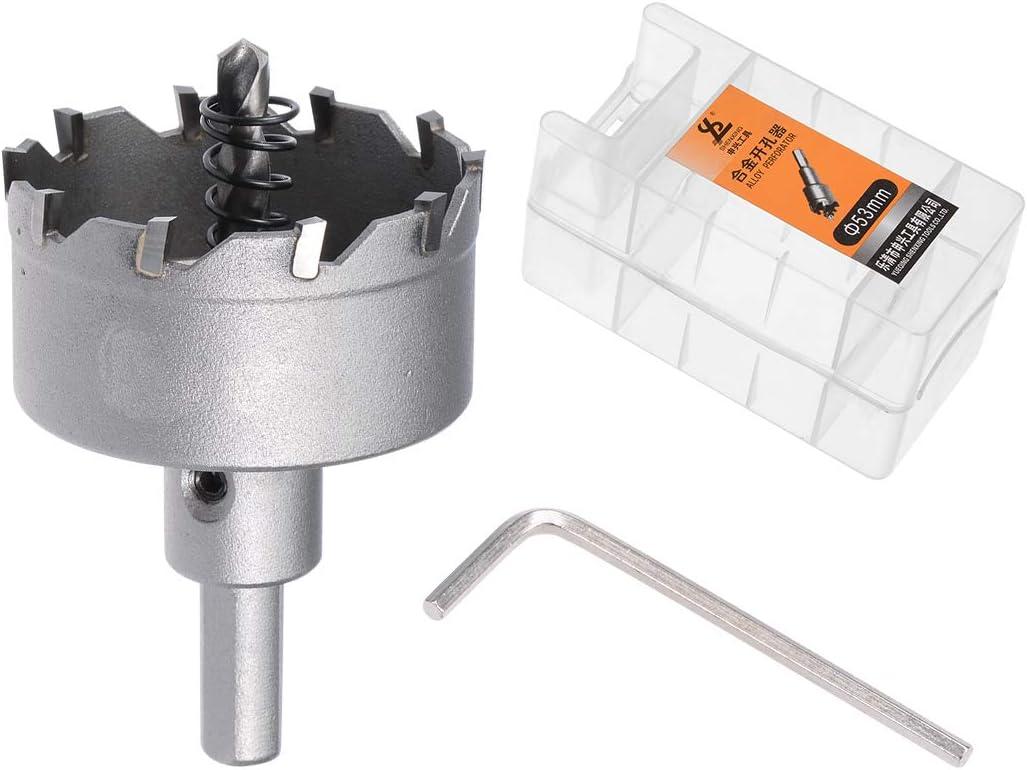 45mm sourcing map Carbure Trou Scie Coupeur Foret pour Acier Inox