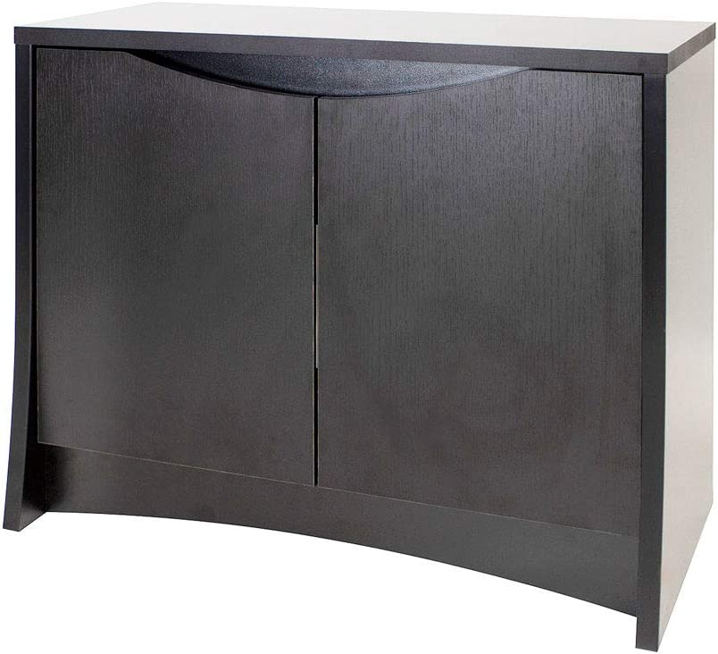 Negro Fluval 14985 Flex 123 L Deluxe Armario Negro