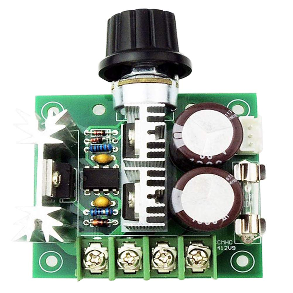 Onyehn DC 12V 24V 30V 40V 13KHZ Auto PWM DC Motor Speed Regulator with  Reverse Polarity Protection, High Current Protection Governor Speed  Controller